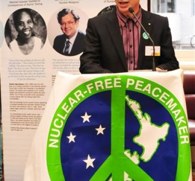 Wellington Nuclear Free 30th Anniversary Celebration